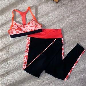 Adidas Sports Bra & Leggings Set